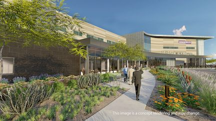 HonorHealth Sonoran Medical Center rendering