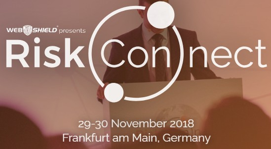 Webshield Riskconnect Conference 2018 at Frankfurt