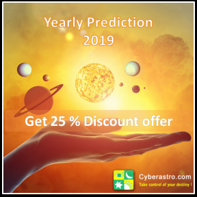 25%  discount yearly prediction 2019