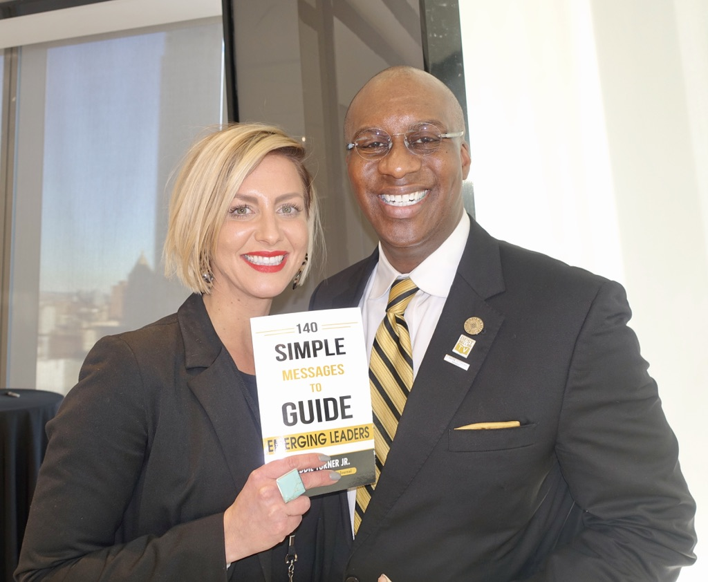 Eddie Turner's book signing at the C-Suite Network at Condé Nast in NYC.
