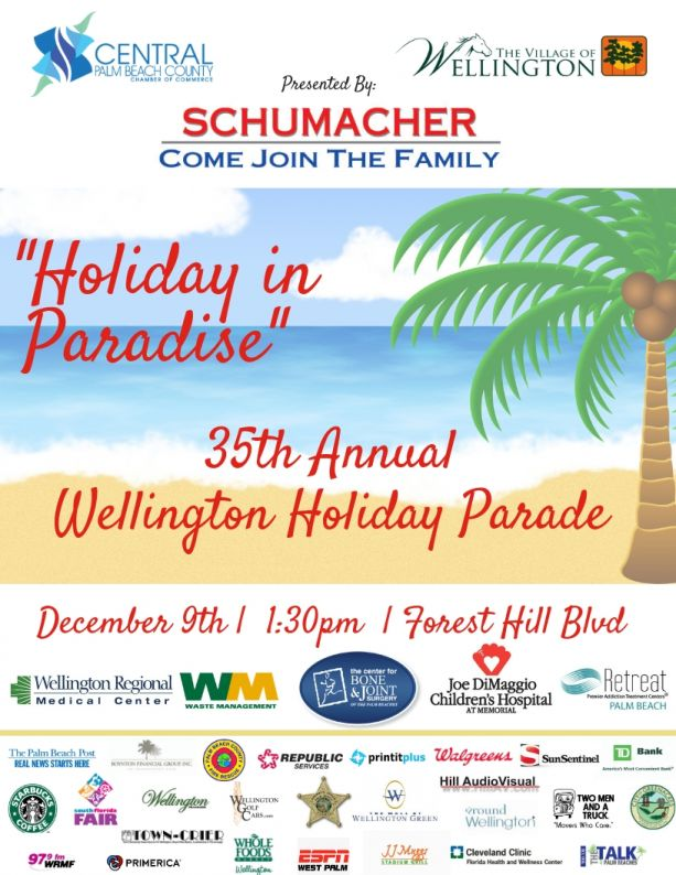 Holiday in Paradise 35th Annual parade page of spo