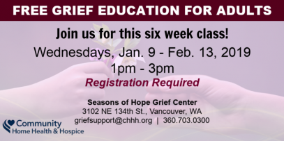 Grief Education Group - Vancouver