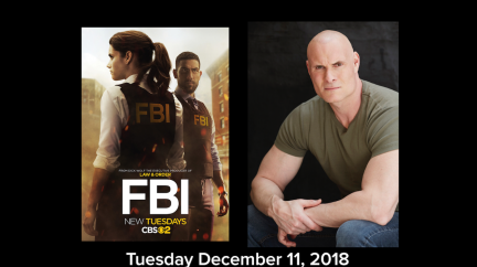 Jasson Finney To appear on FBI on the CBS Television Network 12/11/18