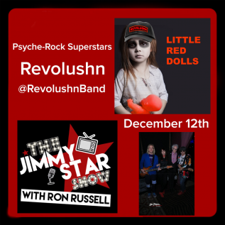 Revolushn To Guest On The Jimmy Star Show With Ron Russell