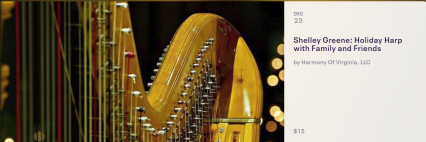Holiday Harp with Family and Friends 12232018