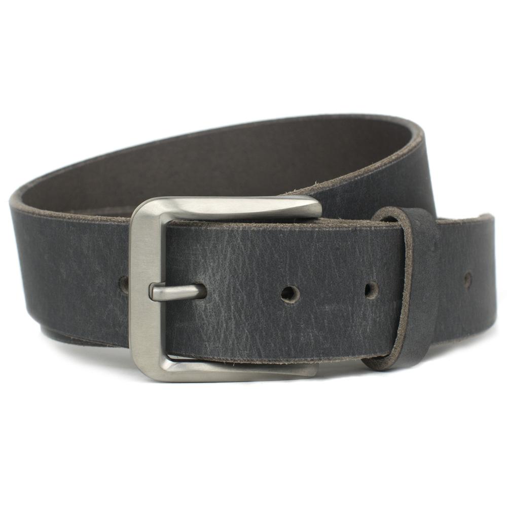 Smoky Mountain Distressed Gray Titanium Belt