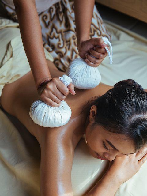 Herbal Healing Poultice at The Ritz-Carlton, Bali