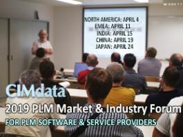 CIMdata's 2019 PLM Market & Industry Forums