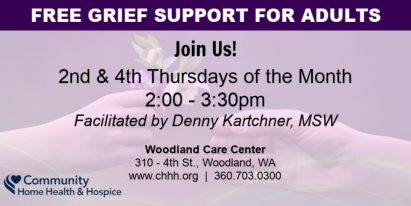 Free Grief Support in Woodland