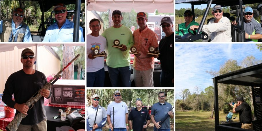 Scenes from Lee BIA Builders Care's 2018 Charity Clay Shoot