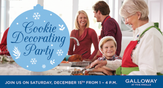 Festive holiday event at Galloway, an active adult community in Santa Clarita