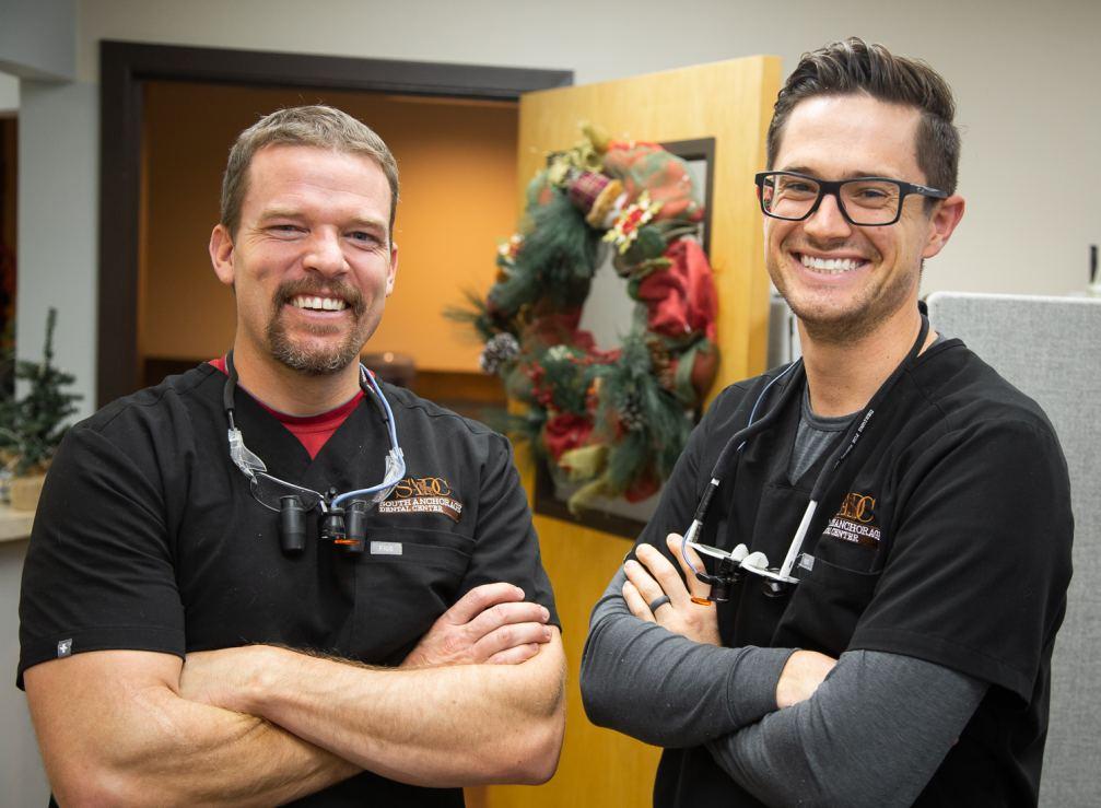 Dr. Broc Brimhall and Dr. Derek Green