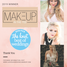 Makeup In The 702 2019 Winner The Knot Best of Weddings