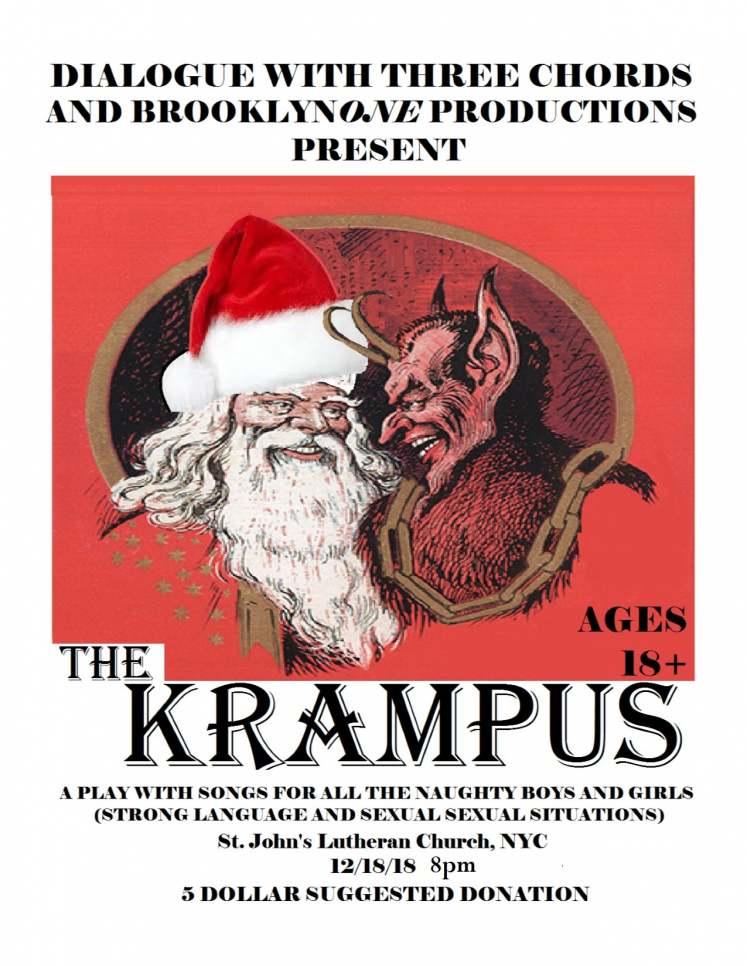 flyer for The Krampus