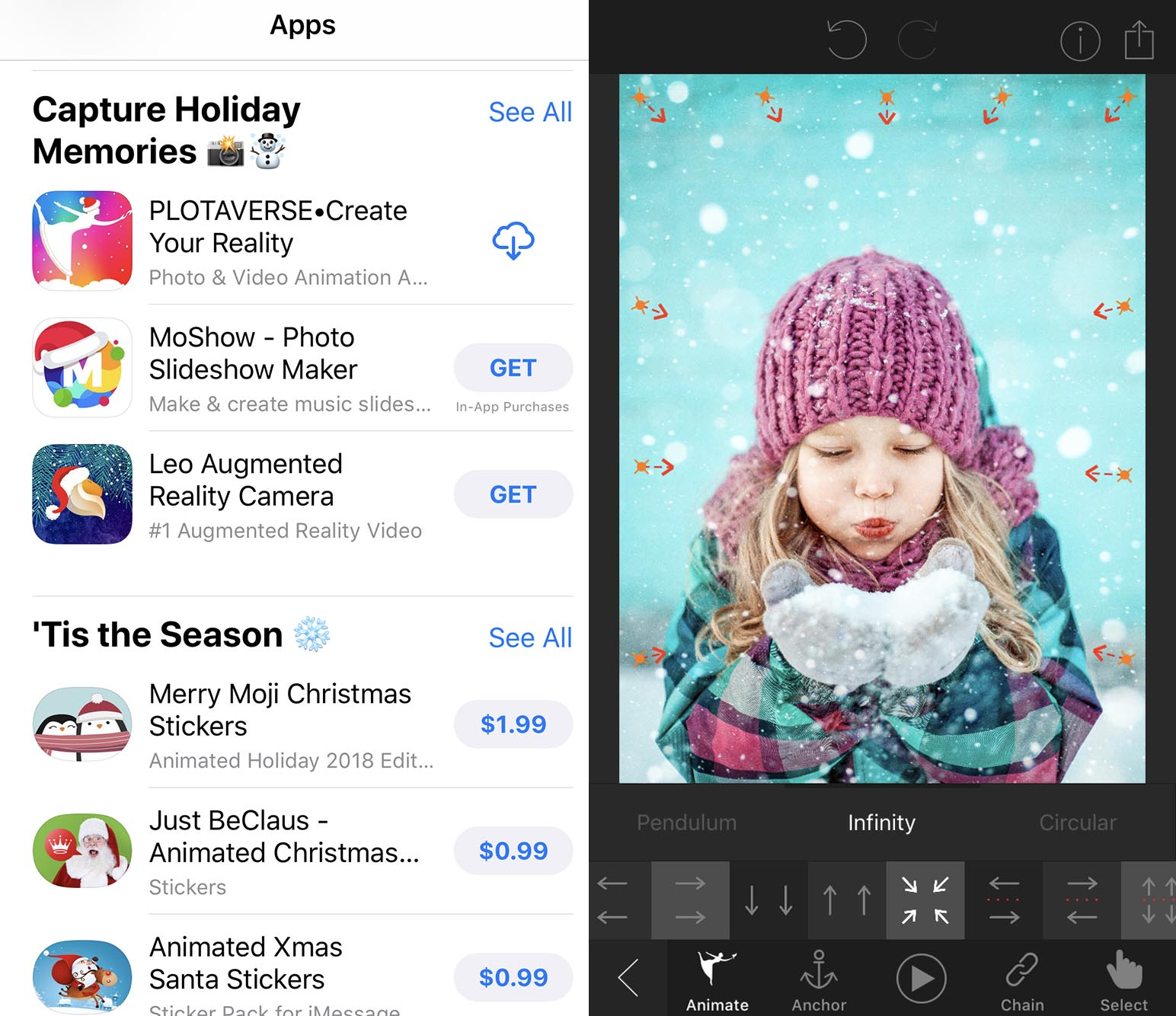 "App Store Features Plotaverse in ""Capture Holiday Memories"""