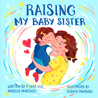 'Raising My Baby Sister' children's book just released on Amazon