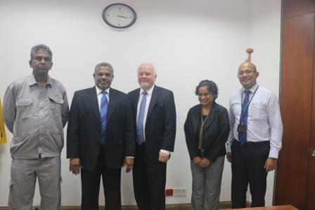 Norwegian Ambassador with CDPLC team