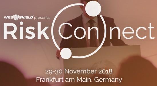 Webshield Riskconnect Conference 2018 at Frankfurt