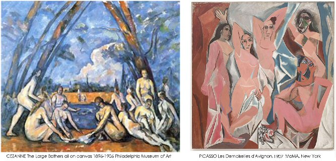 As Cezanne matured during the 1890s Picasso called him 'the father of all of us'