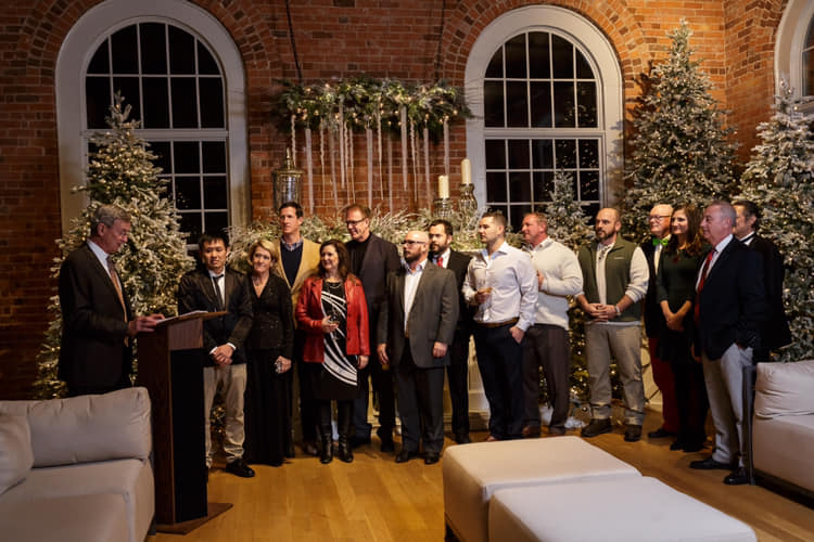 The HBA of Durham, Orange, & Chatham Counties installed new officers for 2019.