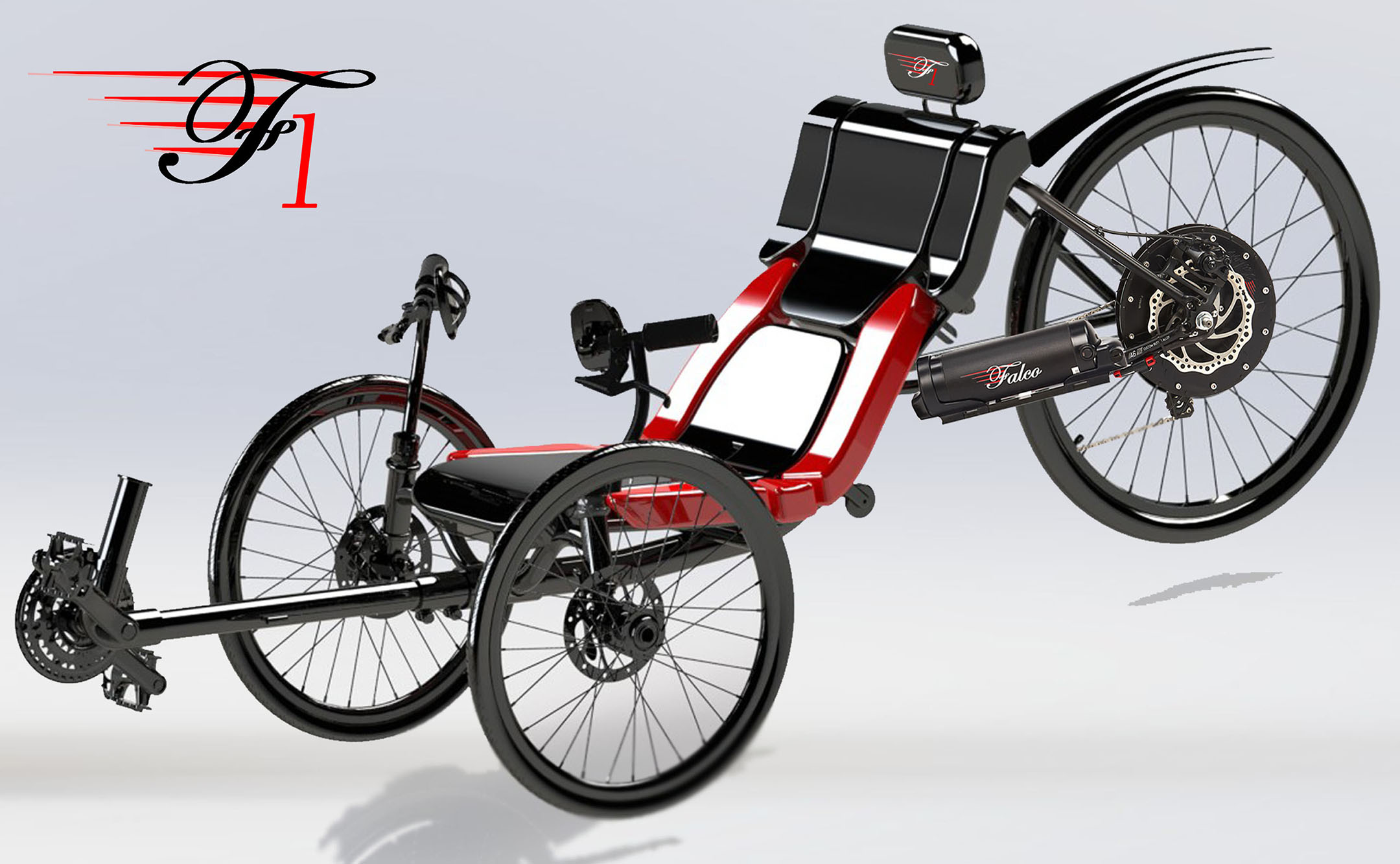 The Electric Vehicle Falco One eTrike
