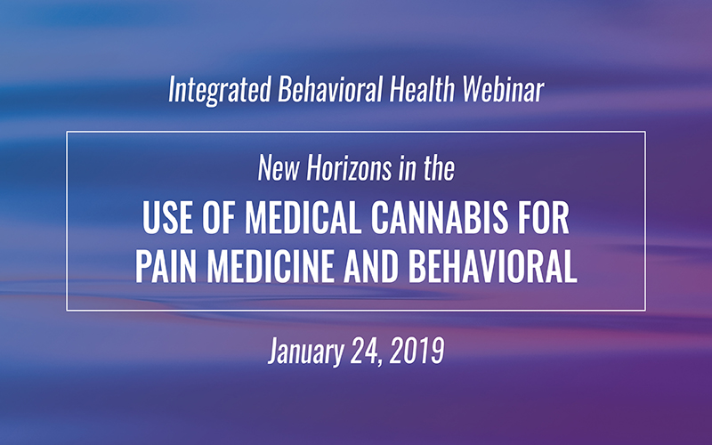 New Horizons in the Use of Medical Cannabis for Pain Medicine