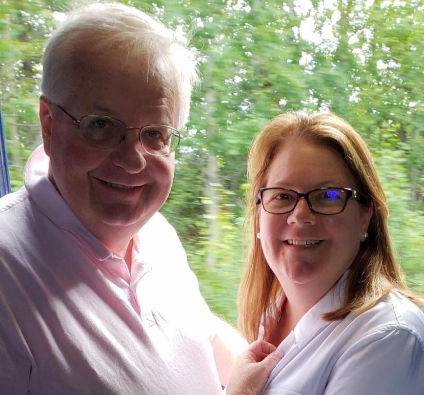 Peter Gordon and Deb King
