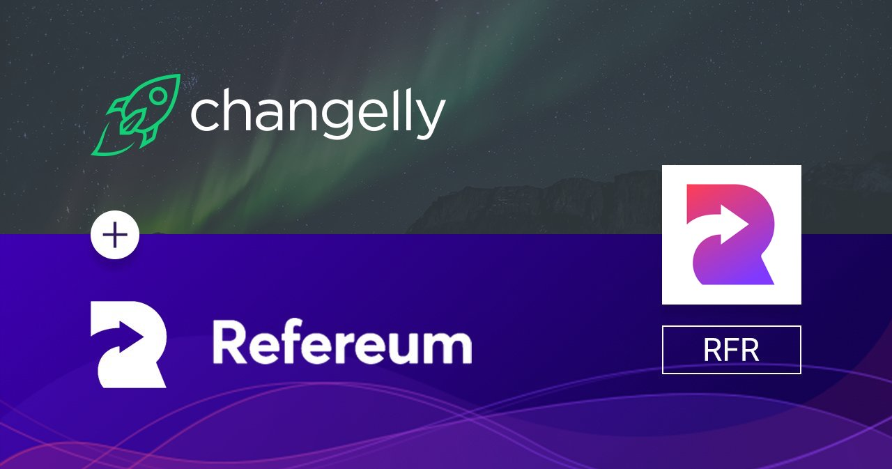 Refereum Changelly