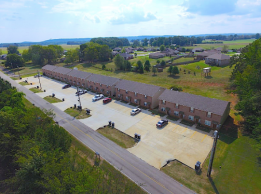 Bethel Townhomes Aerial View
