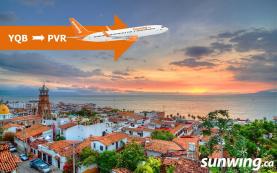 Puerto Vallarta Celebrates Sunwing's First Flight from Quebec City