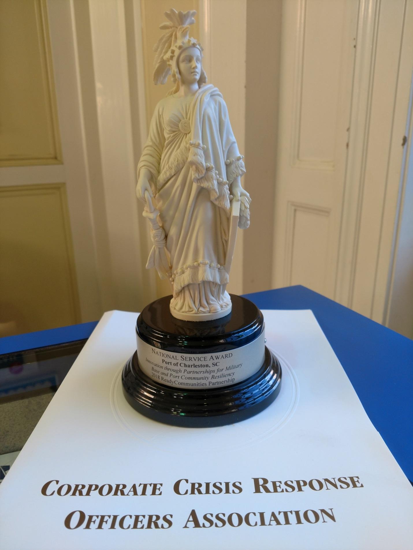 ReadyCommunities Partnership 2018 National Service Award