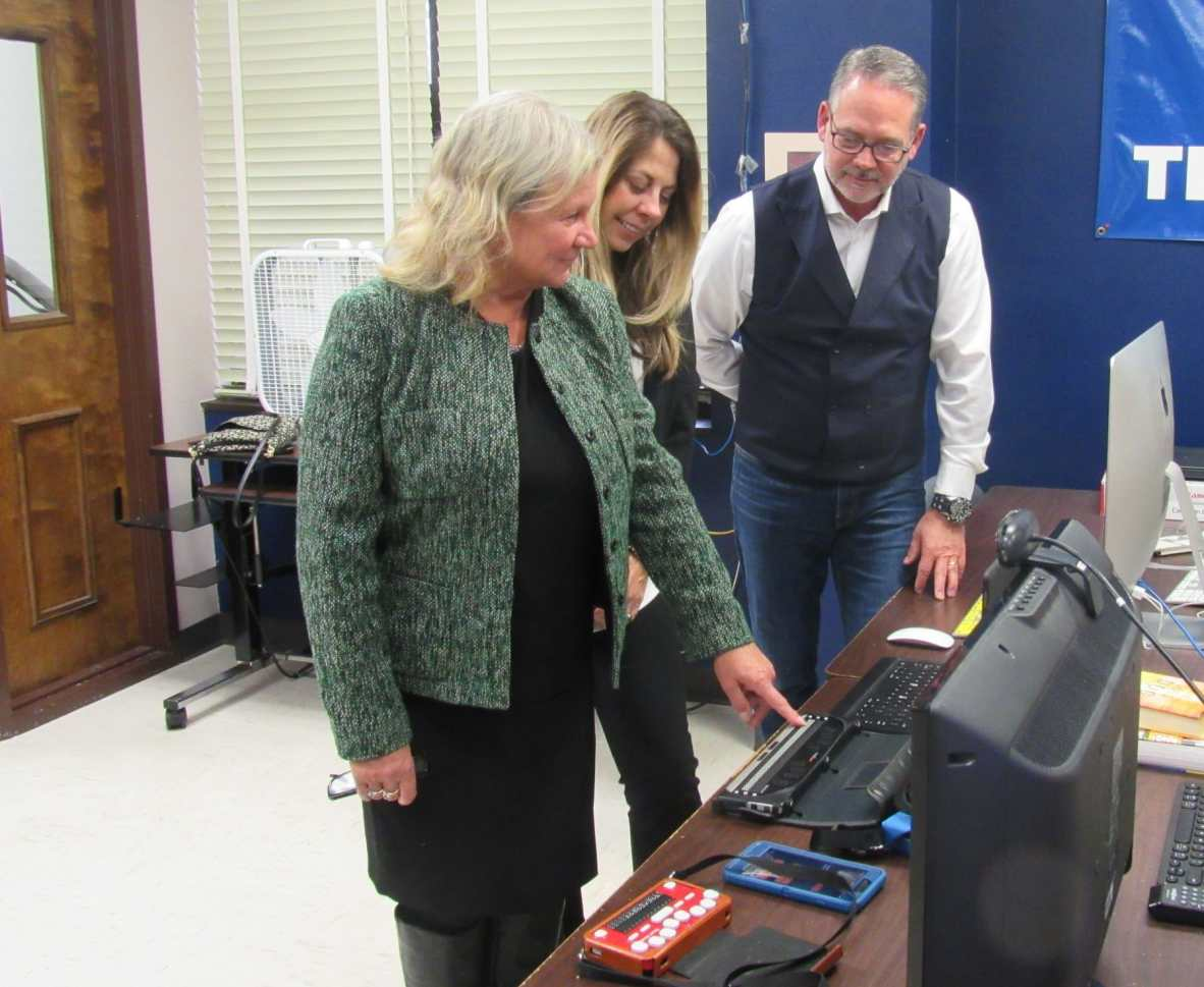 Widex tours the Helen Keller National Center for Deaf-Blind Youth and Adults