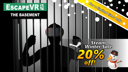 EscapeVR The Basement -Winter Sale