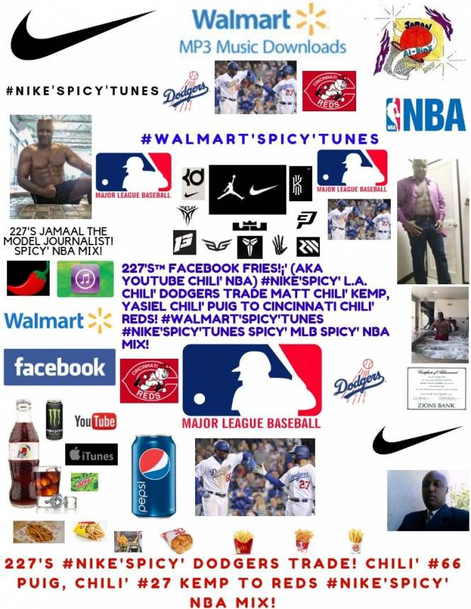227's Facebook Fries (aka YouTube Chili' NBA) #NIKE'Spicy' MLB Surprise Trade!