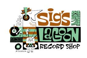 Sig's Lagoon Record Shop