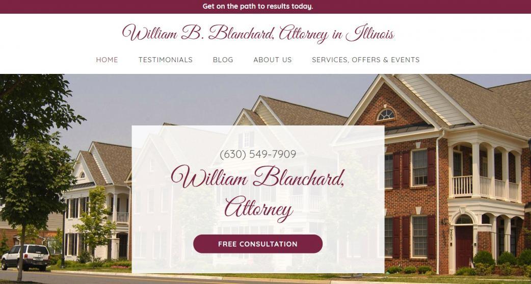 Website of William Blanchard Law