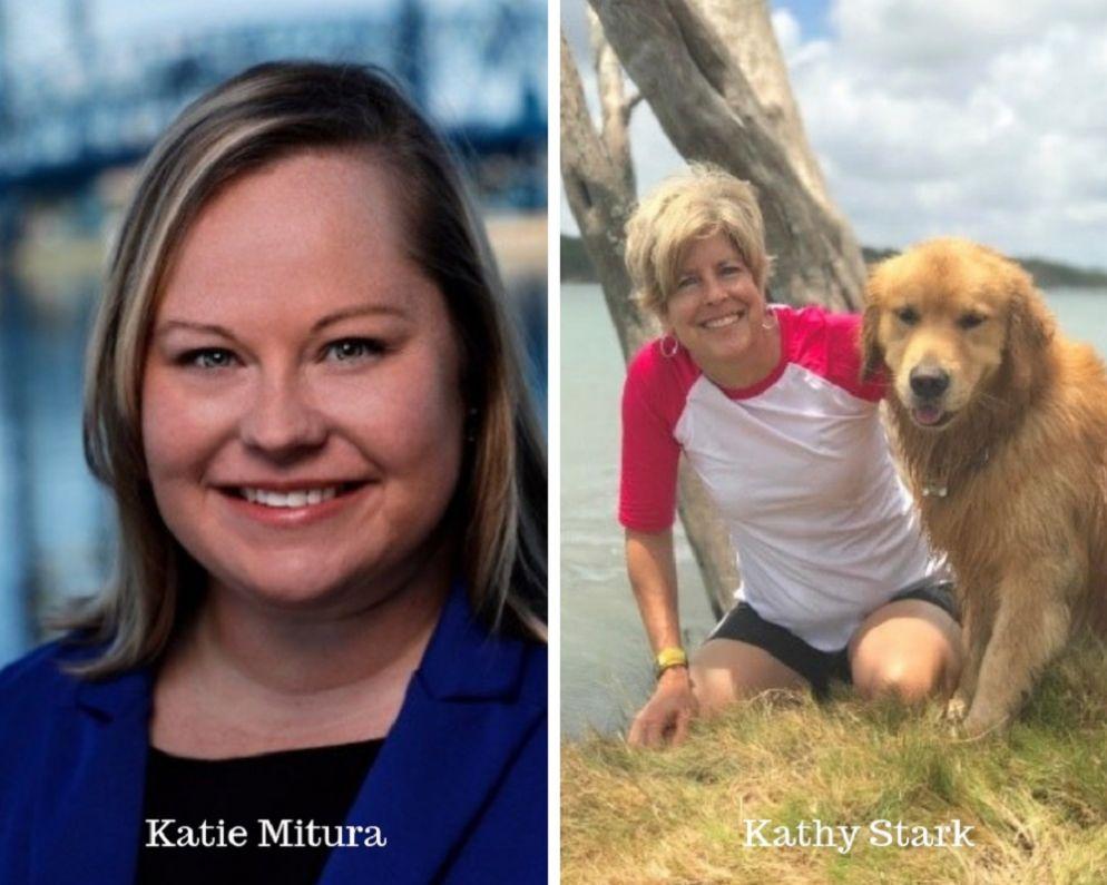 Katie Mitura and Kathy Stark