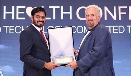 Top 50 Smart Healthcare Leaders Award presented to Dr. Bhaskar Rajakumar
