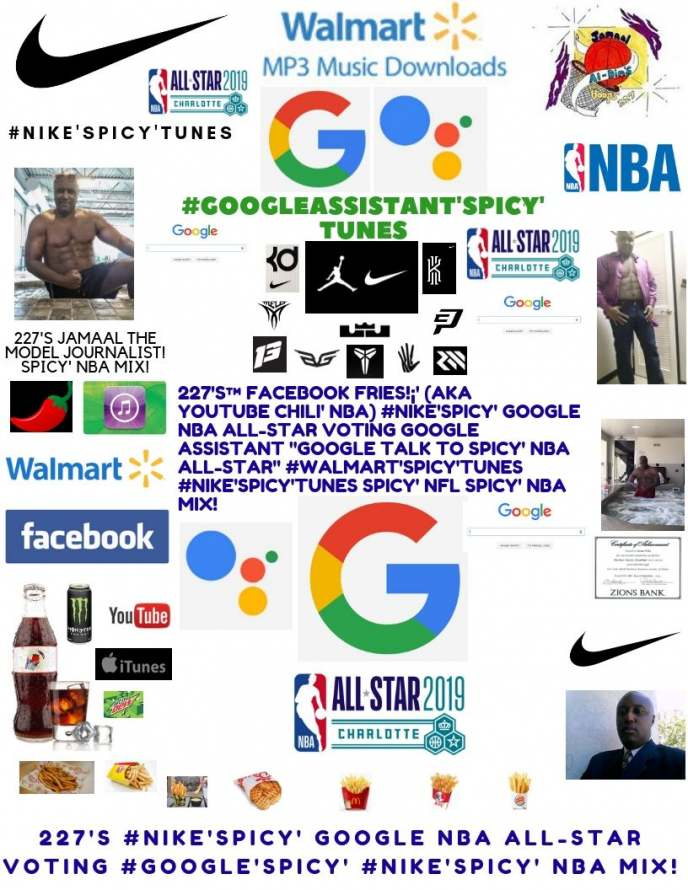 227's #NIKE'Spicy' Google Spicy' Chili' NBA All-Star Voting | Google Assistant