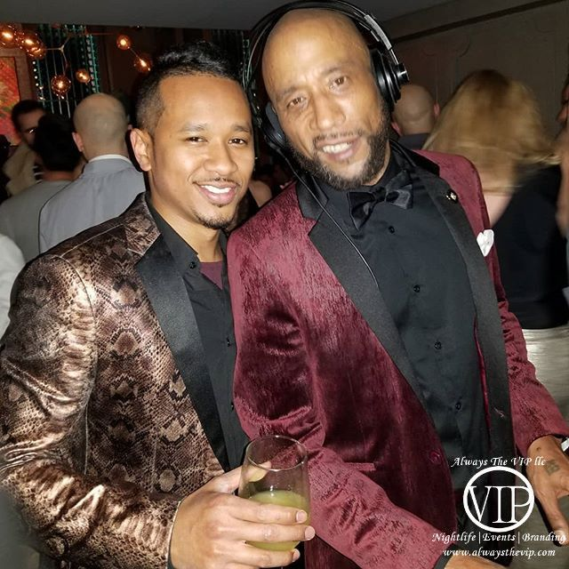 Lord Jamar (Brand Nubian) and Nez NYE Celebrity Party 2018