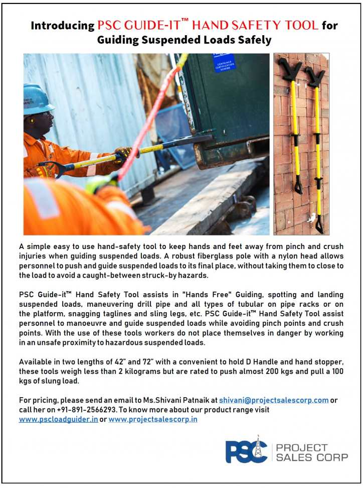 PSC Guide-It Hand Safety Tool
