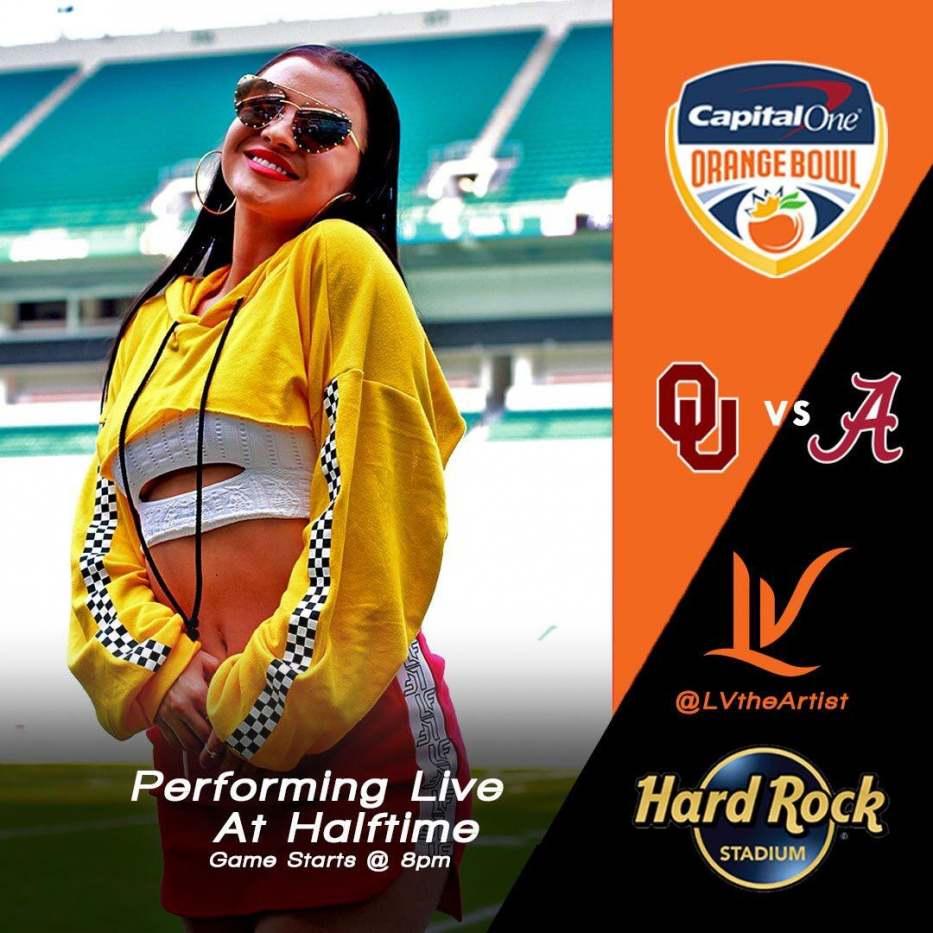 LV Orange Bowl Halftime Performance