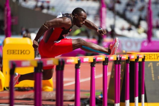 Olympic Hurdler, Mikel Thomas