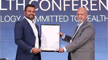 Top 50 Healthcare Companies Award presented to Apollo Hospitals Muscat