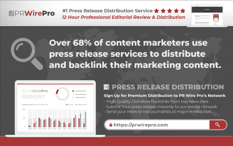 PRESS RELEASE DISTRIBUTION MARKETING STATISTIC - P