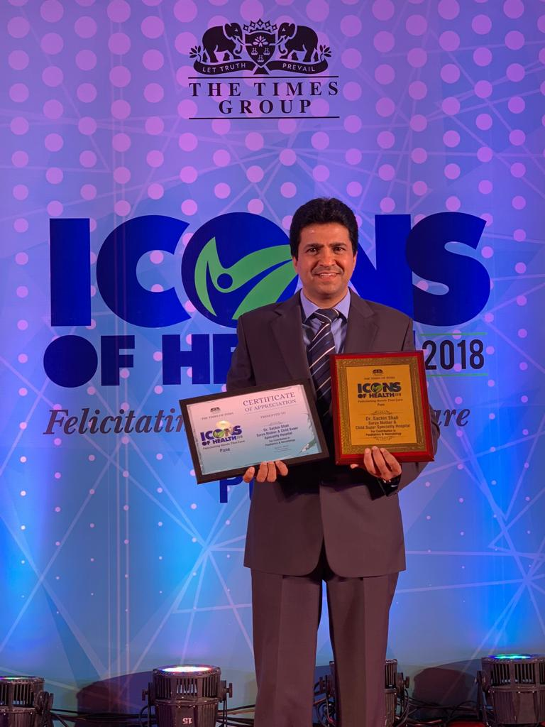 Dr. Sachin Shah - Icons Of Health 2018