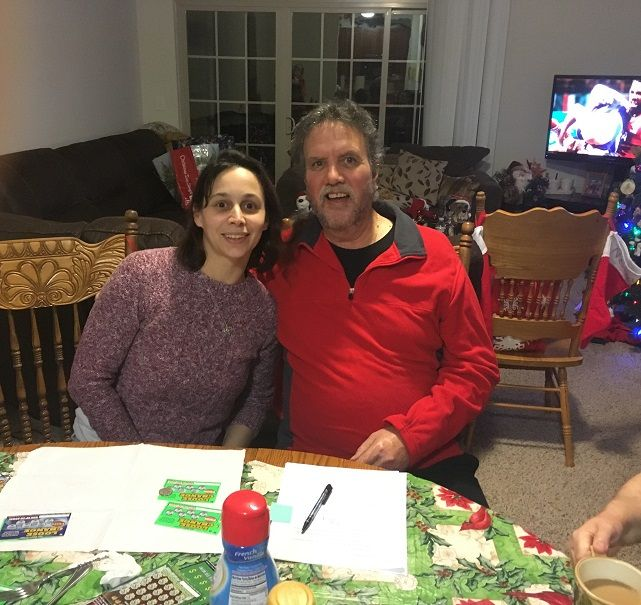 Michele Mason surprised her stepfather with adoption papers for Christmas.