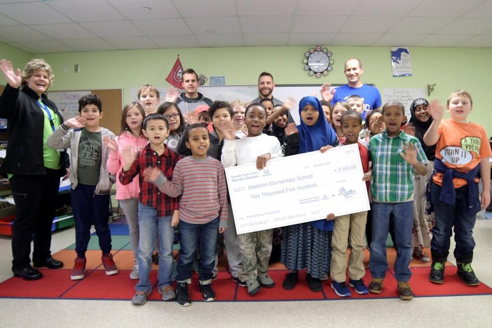 GTCHDA donated $2,500 to Madison and Mississippi Heights Elementary Schools.