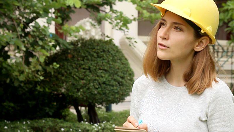 Inessa Kraft - film about sustainable architecture