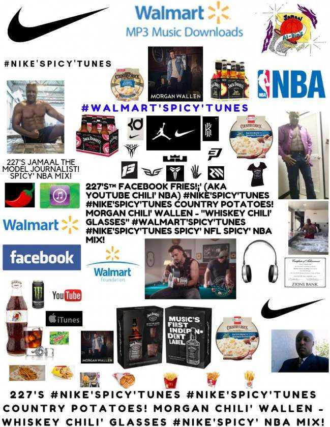 """227's™ #Nike'Spicy'Tunes COUNTRY! Morgan Chili' Wallen - """"Whiskey Glasses"""""""